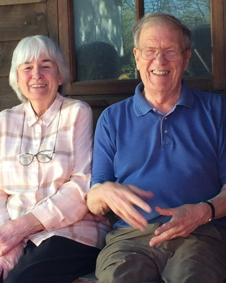 Gilbert and Juliet are will celebrate 60 years of marriage this weekend. Picture: Vanessa Atha