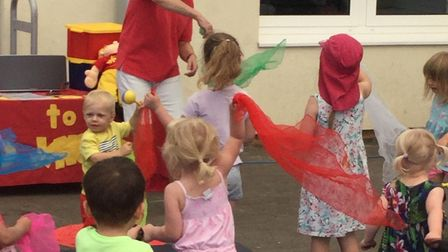 Shefford and District Children's Centre marks National Playday. Picture: SDCC