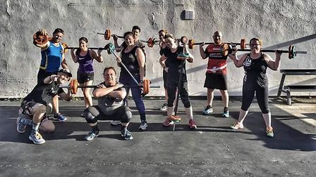 The team at Crossfit Beowulf is hosting a family event in aid of Cancer Research UK. Picture: Teresa