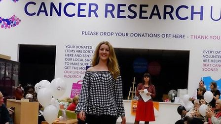 Kate's charitable work includes raising money for Cancer Research UK. Picture: Courtesy of Kate Gee-