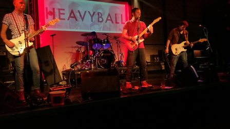 Heavyball at Club 85 during the Rhythms of the World support gig. Picture: ROTW