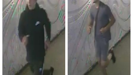 Police have released these CCTV images of two boys they would like to identify as part of their enqu