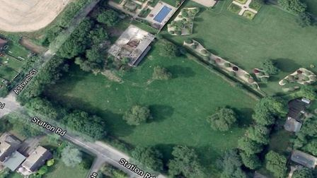 A planning application has been submitted to NHDC for nine new houses in Ashwell. Picture: Google