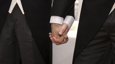 The legalisation of same-sex marriage has seen the number of civil partnerships drop dramatically. F