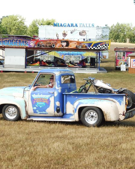 The National Street Rod Association held their hot rod show at Old Warden over the weekend. Picture: