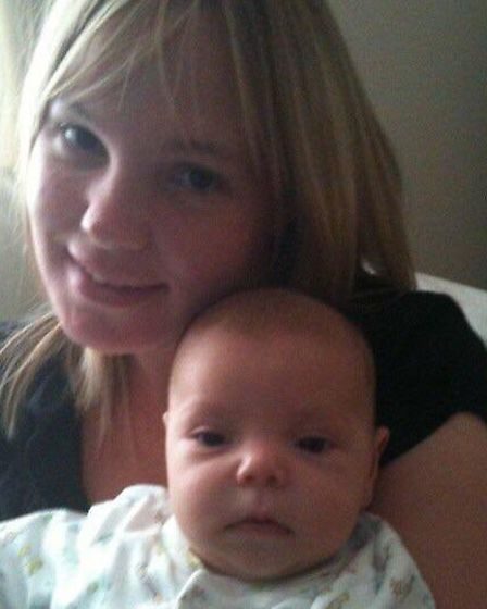 Elliott was on life support and had to have open heart surgery as a baby. Picture: Kerry Mitchell