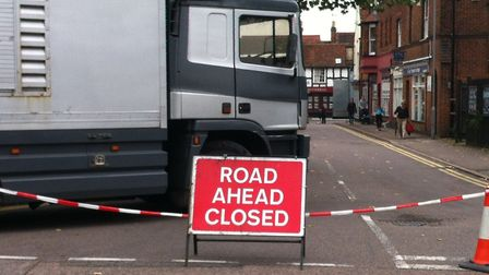 Stevenage High Street will be closed to traffic for the annual charter fair