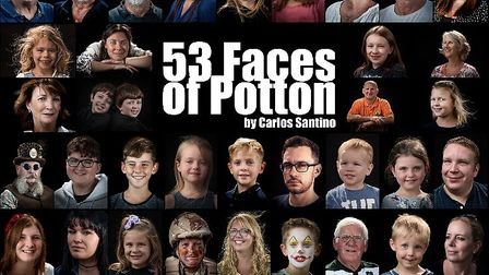 The 53 Faces of Potton. Picture: Sandy Photography Club