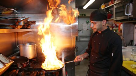 Isa Demir and his family work front and back of house at Misya Meze & Grill