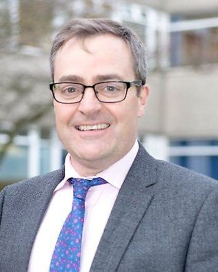 Michael Chilvers, medical director at the East and North Hertfordshire NHS Trust. Picture courtesy o