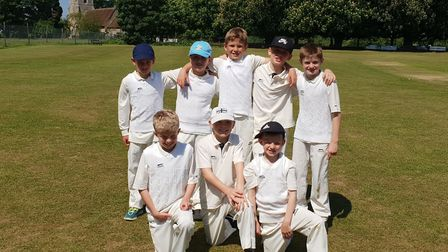 Baldock Cricket Club was awarded a grant which will be used for equipment and training for its junio