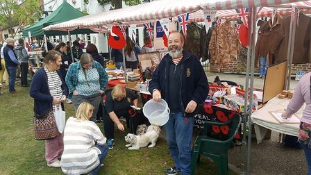 The Baldock branch of the Royal British Legion has been awarded a grant to buy a new gazebo. Picture