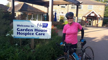 Director of patient services Jayne Dingemans will take part in Garden House Hospice Care's first cha