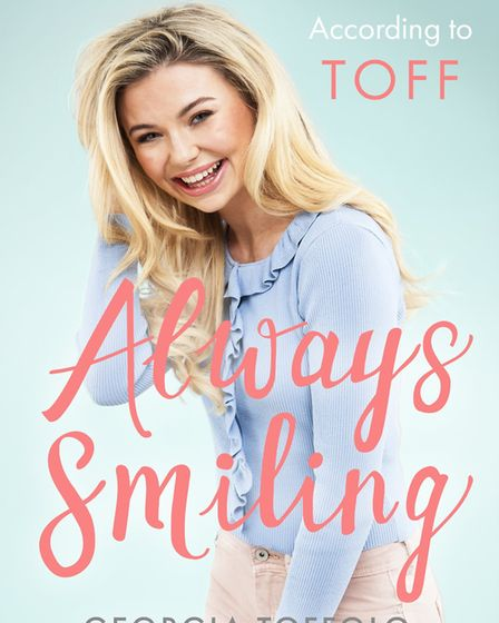 Reality star Georgia Toffolo will sign and discuss her debut book, Always Smiling: The World Accordi