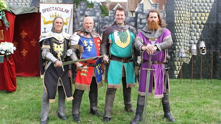 Ashwell Show 2018 - The Spectacular Knights of the Crusades.Picture: Karyn Haddon
