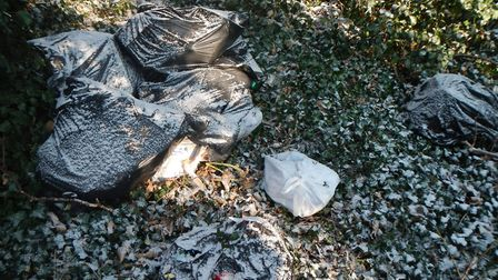 Mr Boyd has to pay the council's cost after rubbish was fly-tipped in Letchworth. Picture: NHDC