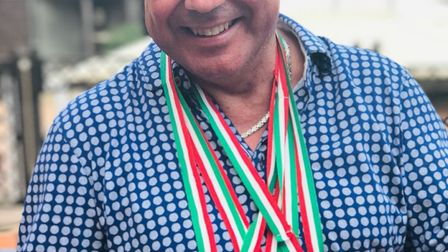 Lilley businessman and Team GB transplant athlete Dino Maroudias at the European Transplant and Dial