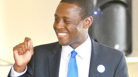 Hitchin and Harpenden MP Bim Afolami, pictured earlier this year, has been appointed a parliamentary