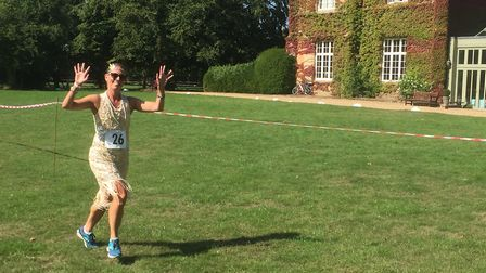 Running in the Offley Place Posh 5km 2018. Picture: Burnt Hare Events