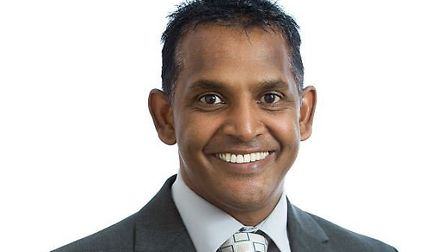 Stevenage GP Prag Moodley, chairman of the East and North Herts Clinical Commissioning Group. Pictur