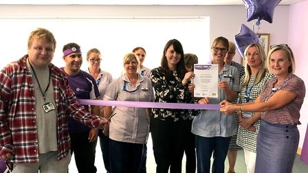 Garden House Hospice Care has been awarded the Purple Star accreditation for a number of its service
