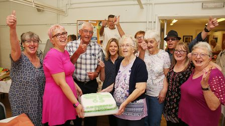Howard Garden Social Centre celebrate their 65th anniversary. Picture: DANNY LOO