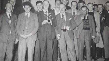 A picture of an unknown event, posted into the Wymondley Scrapbook. Picture: Wymondley Scrapbook