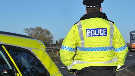 Two people were taken to hospital after a crash in Biggleswade.