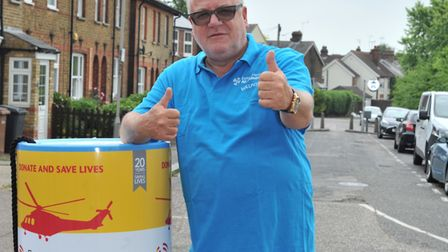 Ray Winstone supporting Essex & Herts Air Ambulance