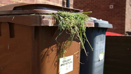 Residents have had faced issues with collection since the start of the contract in May. Picture: Dan