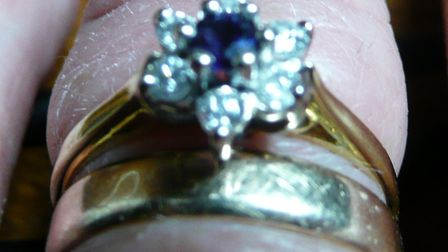 An engagement ring was stolen during a burglary in Baldock. Picture: Herts Police