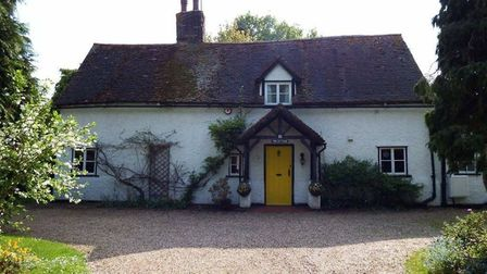 Permission to demolish a 350-year-old cottage and build four new houses has been refused. CREDIT: Ju
