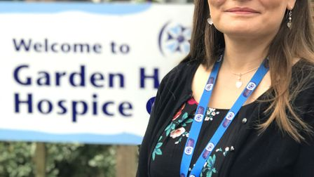 Dr Sarah Bell, Garden House Hospice Care's medical director. Picture: GHHC