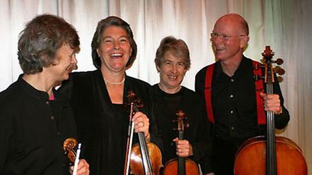 Letchworth Music Club welcome the return of of the Archaeus Quartet next week. Picture: Courtesy of