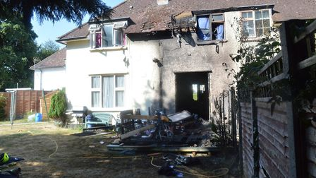 Ethan Andrews pleaded guilty to the arson and was sentenced to 32 months in prison, Picture: Herts p