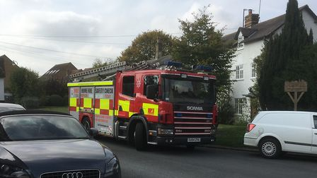 North Hertfordshire District Council, Herts police and Herts Fire and Rescue Service gathered to hos