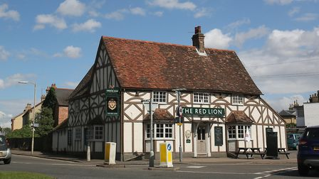 The Red Lion in Biggleswade. Picture: Danny Loo
