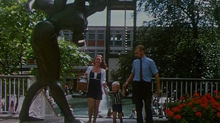 Is this you? Stevenage town centre in 1971. Picture: Stevenage First New Town / Courtesy of Film Hub