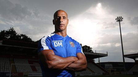 Stevenage FC First Team Manager Dino Maamria. Picture: DANNY LOO