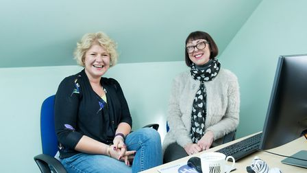 Jill Wright and Lisa Kelly of Hitchin-based Zebra Translations. Picture: Sharon Cooper