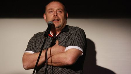 John Thomson at Mostly Comedy in Hitchin. Picture: Gemma Poole