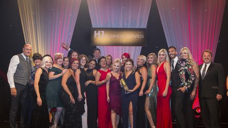 Maxwells Professional Hairdressing collected the Salon Team of the Year award at HJ's British Hairdr