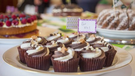 Staff at Brocket Hall supported Macmillan Cancer Support with a coffee morning. Picture: Joe Graham