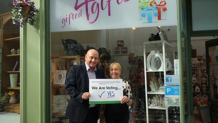 Letchworth BID is encouraging businesses to vote 'yes' in the Love Letchworth reballot next month. P