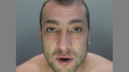 Bryan Precious has been sentenced after two counts of GBH in Stevenage. Picture: Herts Police