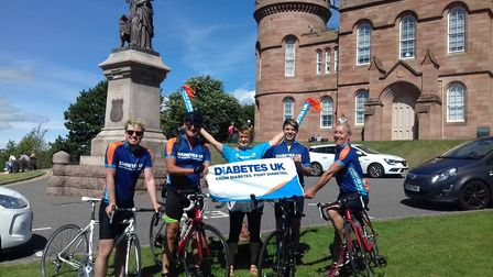 The Shaw family took on the North Coast 500 challenge and raised more than £5,000 for Diabetes UK i