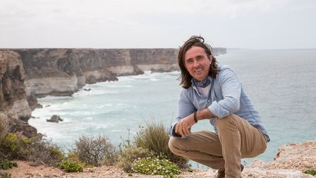 Neil Oliver - The Story of the British Isles in 100 Places can be seen in Stevenage. Picture: Grant