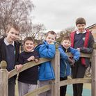 Pupils at Ivel Valley School in Biggleswade. Picture: Ivel Valley School