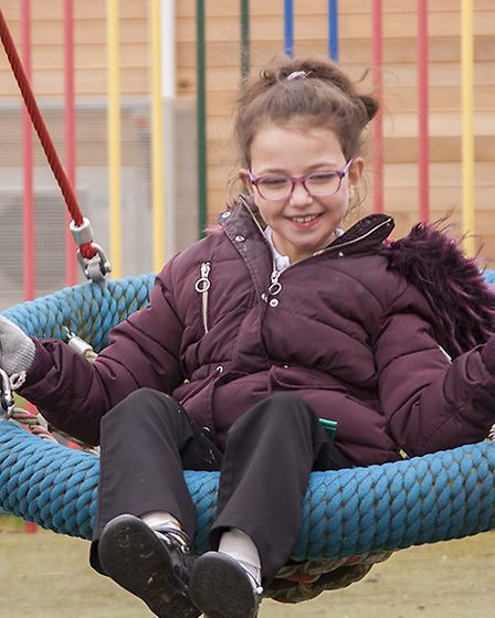 A student at Ivel Valley School in Biggleswade. Picture: Ivel Valley School