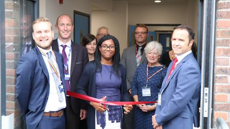 New block at Joyce Frankland Academy in Newport. Picture: CONTRIBUTED